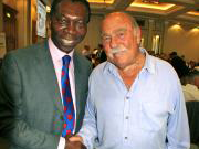Ex England Footballer Jimmy Greaves and Ambrose!